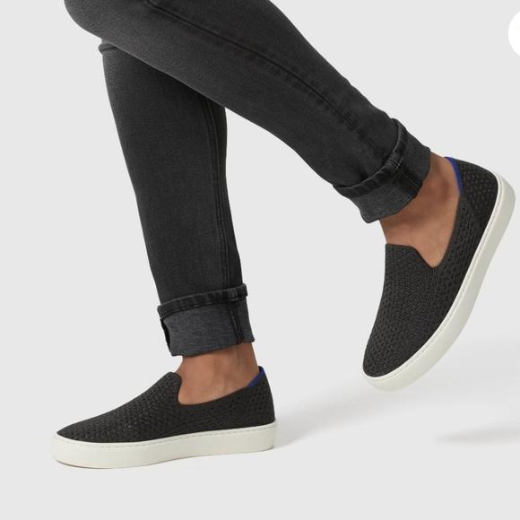 Rothys Black Honeycomb Sneaker